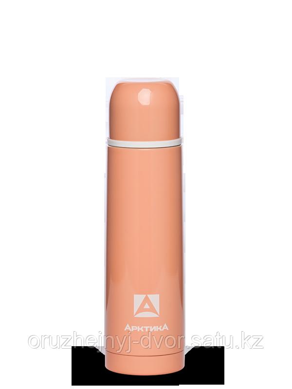 Термос бытовой, вакуумный, питьевой тм Арктика 500 мл, арт 102-500 (каралловый)