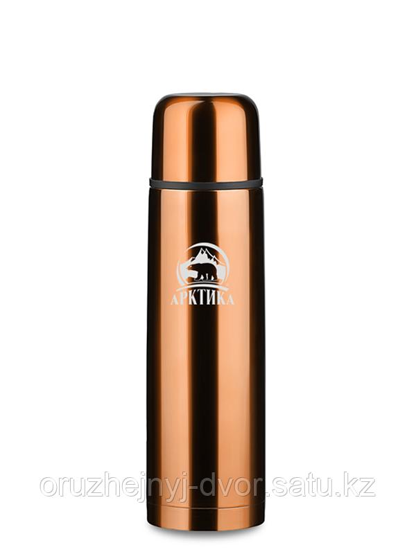 Термос бытовой, вакуумный, питьевой тм Арктика 750 мл, (кофейный)