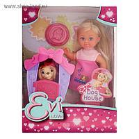 Кукла «Еви с собачкой в домике»