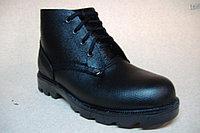 Ботинки рабочие из юфтевой или хромовой кожи на подошве ТЭП и подошве литьевого метода крепления