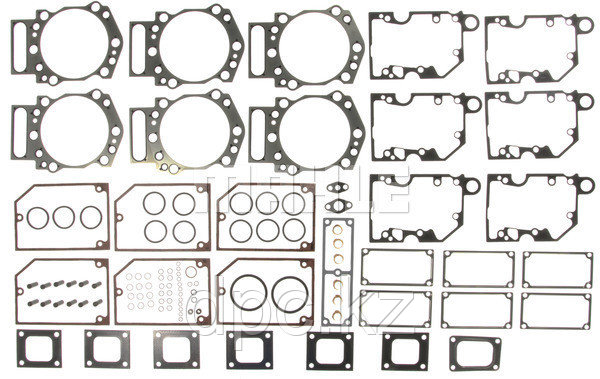 Набор прокладок ГБЦ MAHLE HS54985-2 двигателя Cummins K19 4352576 3801004 3006135 AR11214 3804295 3803597