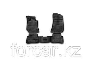 Коврики 3D в салон MERCEDES-BENZ E-Class W212, 2009-2016, седан, 4 шт. (полиуретан)