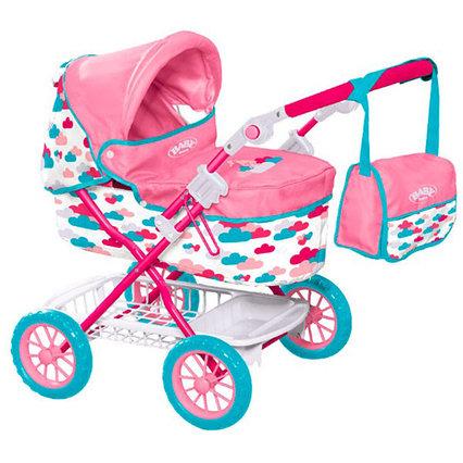 Коляска BABY born делюкс с сумкой