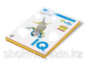"""Бумага ксероксная """"IQ COLOR"""" mixed неон,4цв., А4,200л, 80г"""
