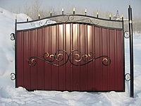 Кованные забор