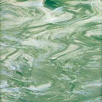 Seafoam Green/White