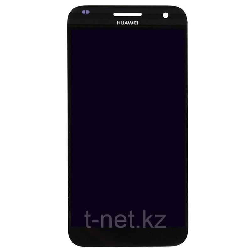 Дисплей Huawei Ascend G7, с сенсором, цвет черный