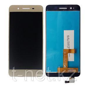 Дисплей Huawei GR3 TAG-L21, с сенсором, цвет золотой