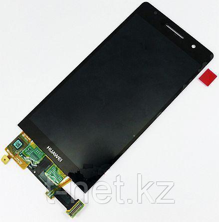 Дисплей Huawei Ascend P6, с сенсором, цвет черный