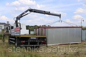 Разгрузка контейнеров в Алматы
