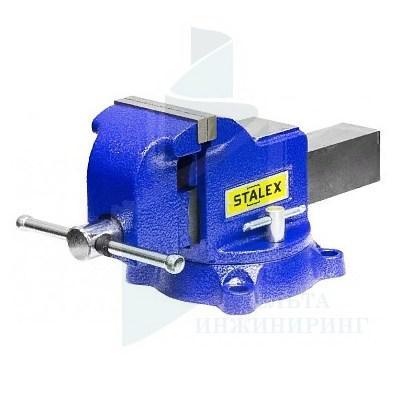 "Тиски слесарные STALEX ""Гризли"", 125 х 125 мм"