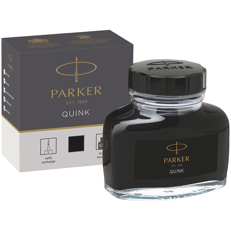 """Чернила Parker """"Bottle Quink"""" черные, 57мл"""