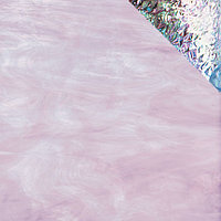 Pale Purple/White, Iridescent