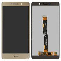 Дисплей Huawei GR5 (2017) BLL-L21/BLL-L22, с сенсором, цвет золотой