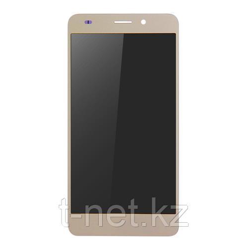 Дисплей Huawei GT3 NMO-L31, с сенсором, цвет золотистый