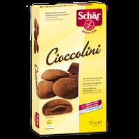 Печенье с шоколадным кремом безглютеновое Cioccolini 150 г.
