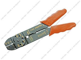 (177505) Щипцы, 210 мм, для зачистки электропроводов и обжима контактных клемм, 1,5–6,5 мм// SPARTA