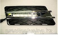 Рамки в бампер с ходовыми огнями LED DRL на Benz GLK X204