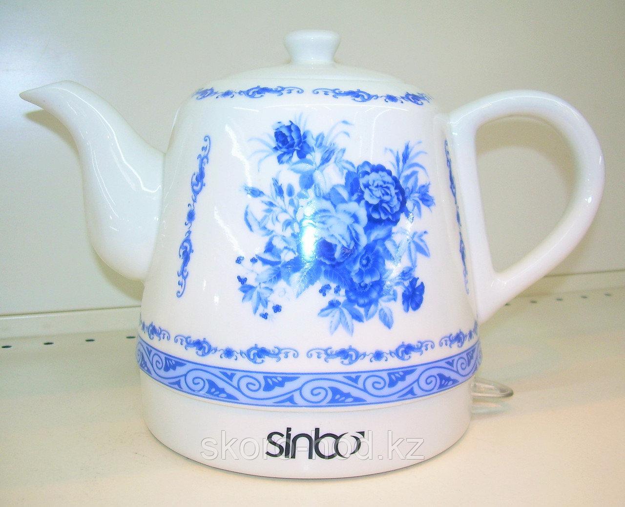 Электрочайник Sinbo керамический 1,5 литра