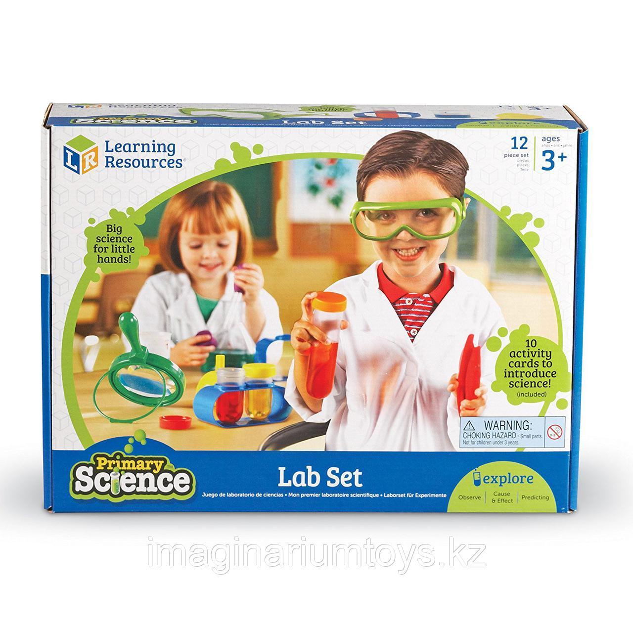Развивающий набор «Моя первая лаборатория» Learning Resources