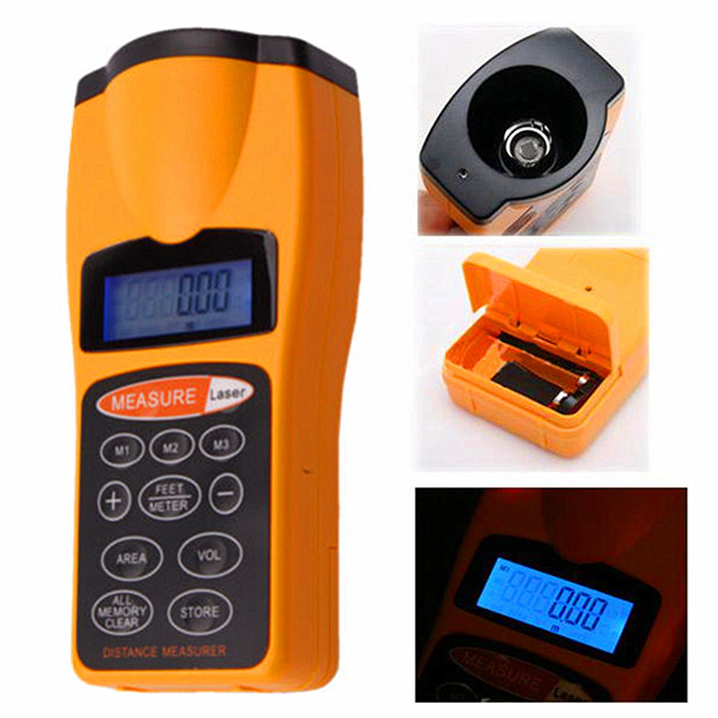 Рулетка лазерная цифровая  CP-3007 / дальномер