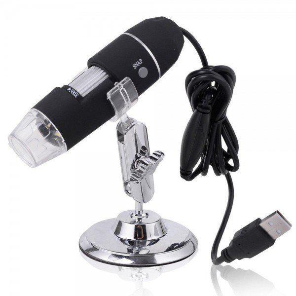 Электронный USB микроскоп для пайки 1-500X