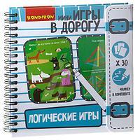 Компактные развивающие игры в дорогу ЛОГИЧЕСКИЕ ИГРЫ, фото 1