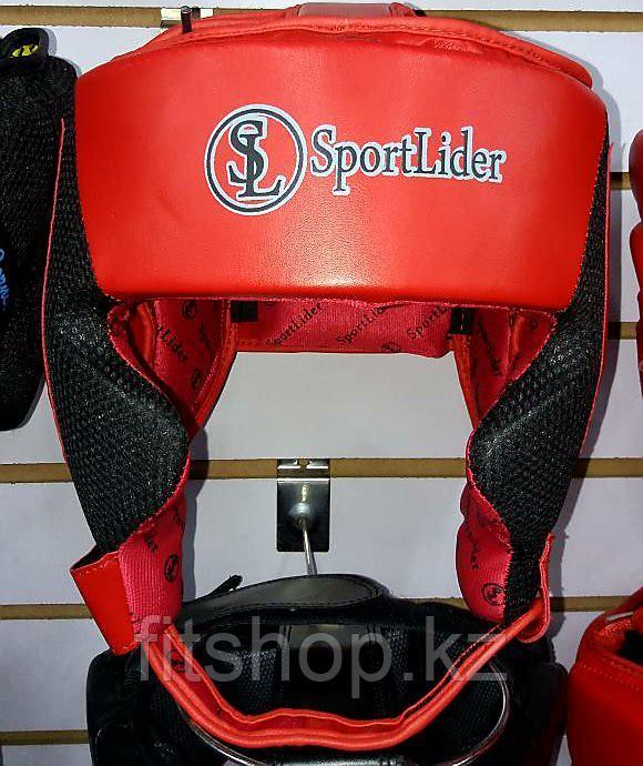 Кожаный шлем для бокса Sport Lider
