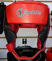 Кожаный шлем для бокса Sport Lider, фото 1