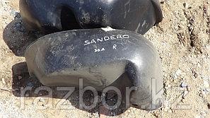 Подкрылок правый задний Renault Sandero II
