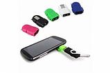 Нанопереходник MicroUSB-USB OTG дизайн Андроид для подключения периферийных USB устройств, фото 3