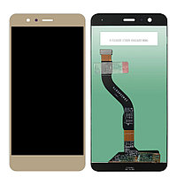 Дисплей Huawei P10 LITE WAS-LX1, с сенсором, цвет золотой