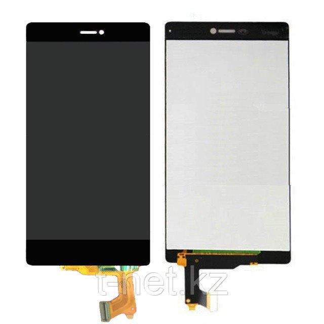 Дисплей Huawei Ascend P8 GRA-L09/GRA-UL00/GRA-UL10, с сенсором, цвет черный