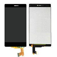 Дисплей Huawei Ascend P8 GRA-L09/GRA-UL00/GRA-UL10, с сенсором, цвет черный, фото 1