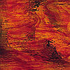 Ruby Red/Amber Waterglass