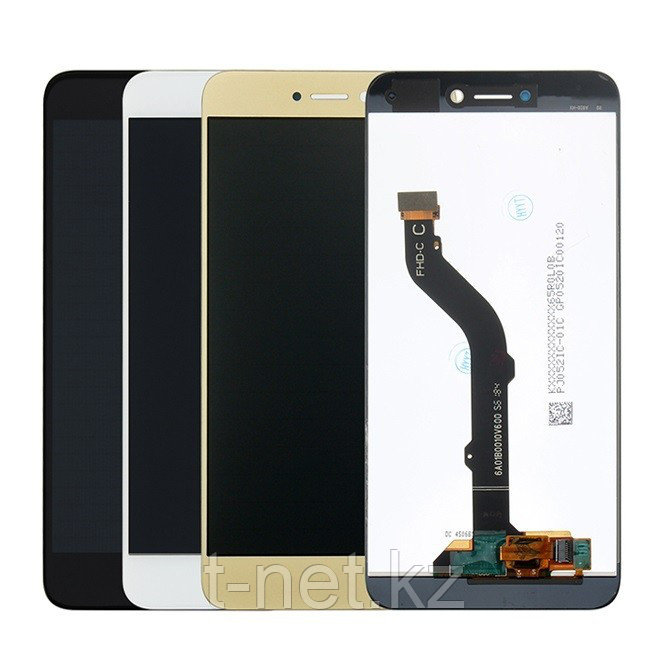 Дисплей Huawei P8 Lite 2017 PRA-LA1/PRA-LX1/PRA-LX3, с сенсором, цвет черный