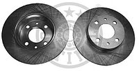 тормозные диски Alfa Romeo 145,146,155 (92-01, задние, Optimal)
