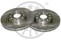 Тормозные диски Alfa Romeo 166, объем-2.0, 2.4, (98-... , передние, Optimal)