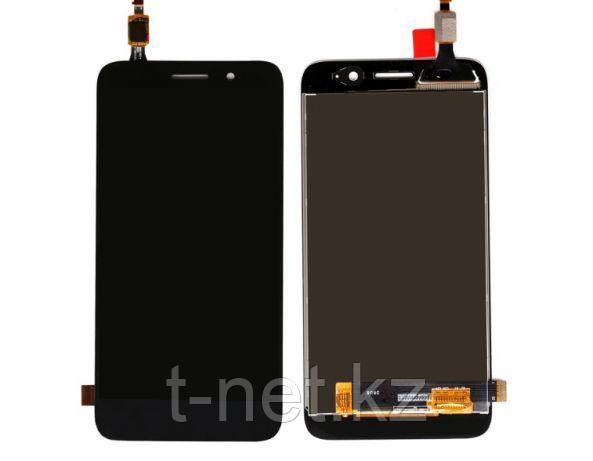 Huawei Y3 CRO-L22, с сенсором, цвет черный