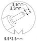 Блок питания для ноутбука Toshiba, 19V 4.74A, 90W 5.5*2.5mm, фото 3