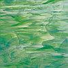 White/Dark Green