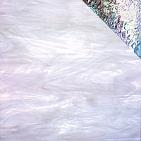 Clear/White, Iridescent