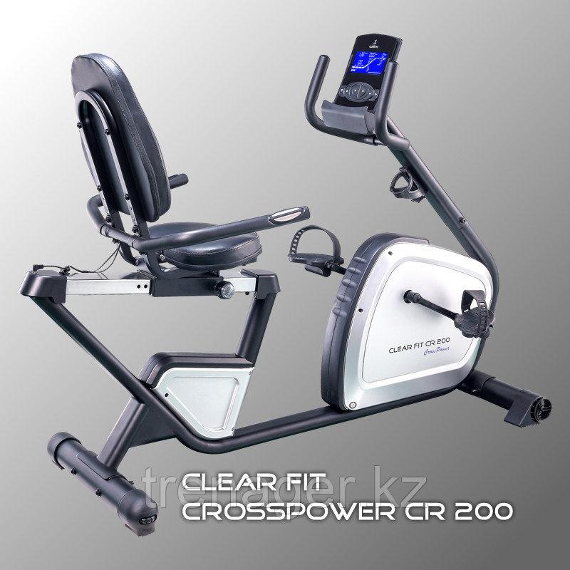 Горизонтальный велотренажер Clear Fit CrossPower CR 200