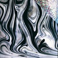 Black/Clear Baroque, Iridescent