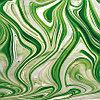Emerald/White/Clear Baroque