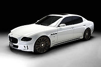 Обвес Wald-style на Maserati Quattroporte, фото 1