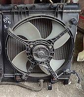 Вентилятор радиатора Subaru Lancaster правый (BH9)