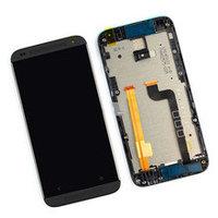 Дисплей HTC Desire 601, в сборе с сенсором, цвет черный