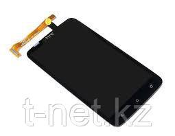 Дисплей HTC One X, с сенсором, цвет черный