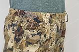 """Костюм """"Скаут"""" утепл. мембранное трикотажное полотно/флис подклад соты желтые, р.46-56, фото 2"""